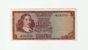 South Africa 1 Rand 1973 XF/AUNC
