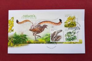 Australia 2021 5th Oct, Nature's Mimics Issue- Birds, Insect& Sealife, M/S FDC