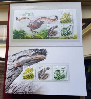 Australia 2021 5th Oct, Nature's Mimics Issue- Birds, Insect& Sealife, Presentation Folder, Stamps & M/S, MNH
